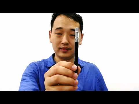 Ceramic coil disposable CBD vape pen