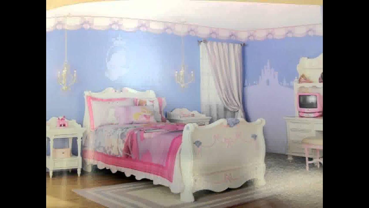 Disney habitaciones princesa ideas de decoraci n youtube for Cuartos de princesas