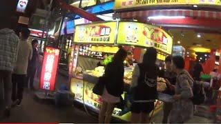 Kenting night market, Taiwan travel vlog