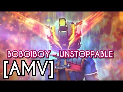 Boboiboy Galaxy - Unstoppable (Nightcore) [AMV]