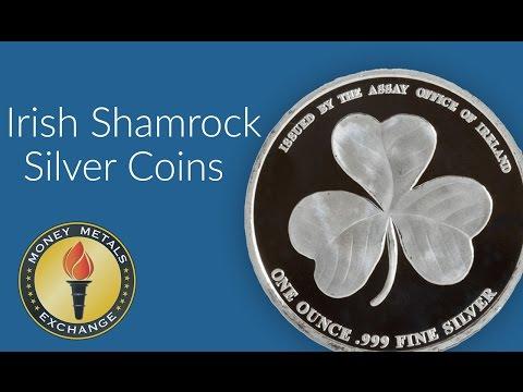 Silver Shamrock Coin