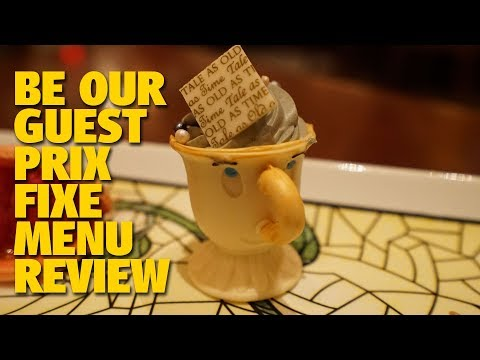 Be Our Guest New Prix Fixe Menu Review | Magic Kingdom