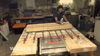 The Woodsource DIY Glue Up