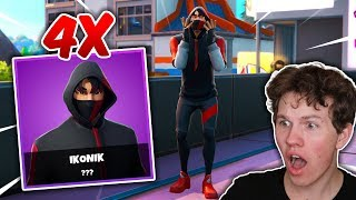 HOW I GOT 4X ICONIK SKINS!! -Dansk Fortnite