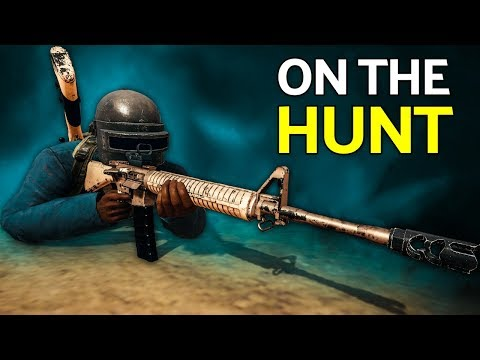 PUBG | Hunting Players with the M16A4 (KAR98K + M16A4 Gameplay)