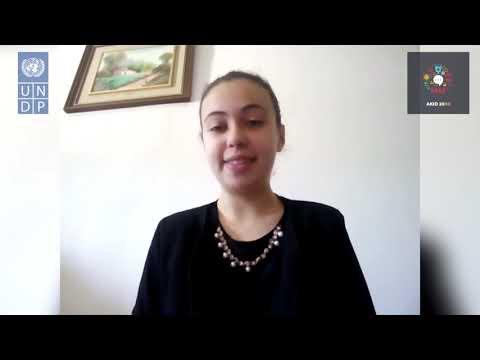 AKID2030 - Message de solidarité de Fatima Zahrae El Ouraguili