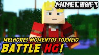 Minecraft - HG: Torneio Battle-HG - Melhores Momentos!!! DE NOVO NEOX? DE NOVO?