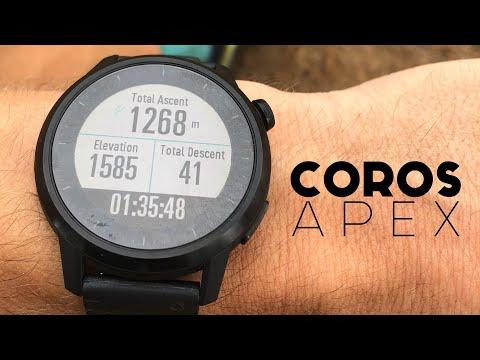 COROS APEX Review   Best Running Watch?