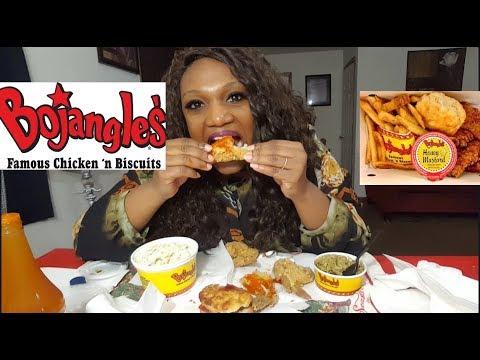 Bojangles Fried Chicken Mukbang!