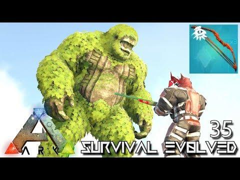 ARK: SURVIVAL EVOLVED - RARE CHIEFTAIN BOW & SASQUATCH !!! E35 (MODDED ARK EXTINCTION CORE)