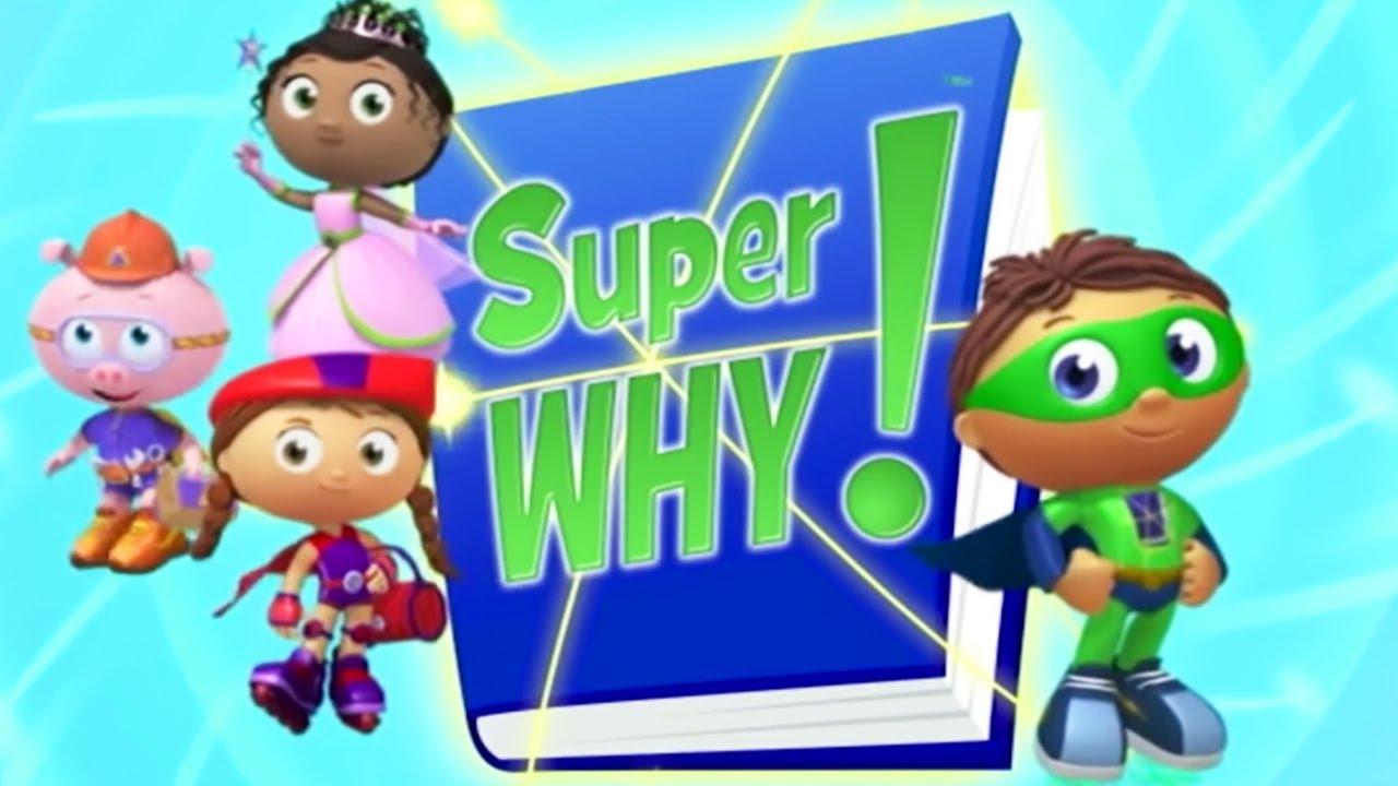 SUPER WHY! - 4 HOURS RERUN