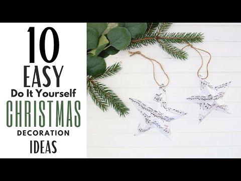 DIY Christmas Decorations  ~ Easy Christmas Decor ~ Christmas Decorations DIY ~ Holiday Decor
