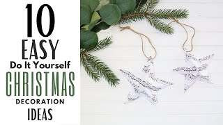 DIY Christmas Decorations  ~ E…