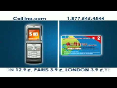 The New Global Call Line Recharge Card
