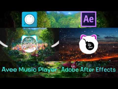 Avee Music Player vs Adobe After Effects  Care e mai bun ?