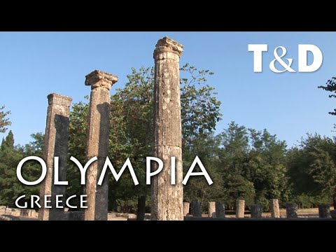 Olympia Sanctuary - Greece - The City of Olympic Game Tourist Guide