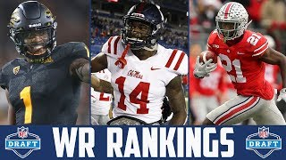 NFL Draft WR Rankings 2019 (NFL Draft Position Rankings 2019) Wide Receiver Rankings