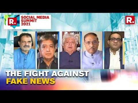 Suhel Seth Speaks To India's Leading Experts On Fight Against Fake News | Social Media Summit 2021