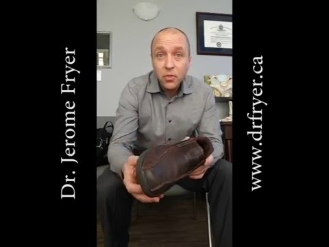 Shoe wear - what is normal? Nanaimo Chiropractor Explains
