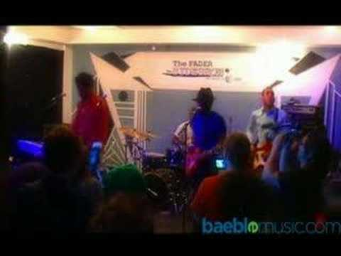 Dragons of Zynth - Get Off - Live @ The FADER Sideshow || Baeble Music