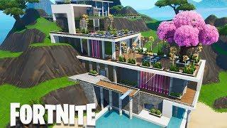 Fortnite Creative - Modern Mansion (Speed Build)