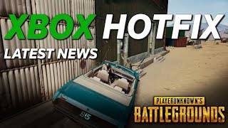 PUBG XBOX HOTFIX Details (9/18) Xbox One X Performance, Weapon Skins, Bug Fixes And More!!