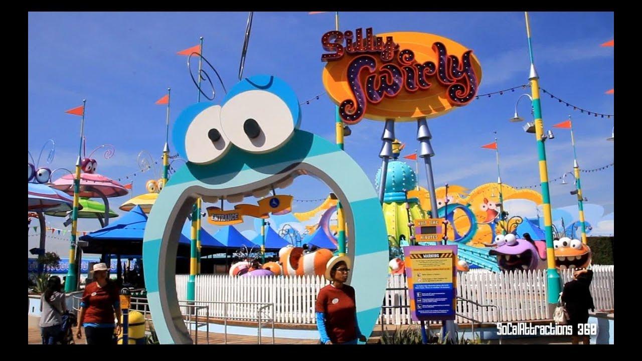 HD Super Silly Fun Land  Swirly Swirly Ridethrough