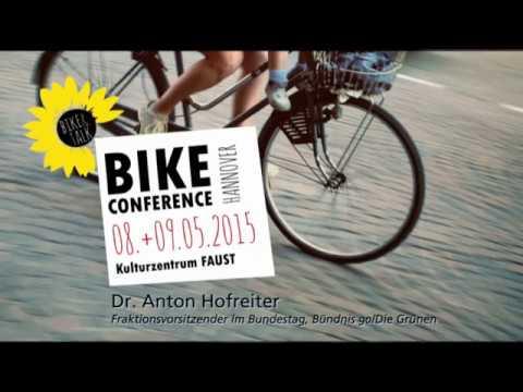 Bike Conference Hannover - Anton Hofreiter
