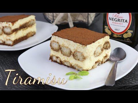 Bánh Tiramisu - công thức không dùng gelatin | Bánh không dùng lò nướng