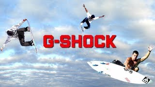 OFFICIAL VIDEO - G-Shock Life 02 - LovinLife Multimedia - CASIO America(Official G-Shock video remix featuring Pro Skateboarder Stevie Williams, Pro Surfer Gabe Kling, and Pro Snowboarder Matt Hammer - Produced by LovinLife ..., 2010-01-15T13:19:34.000Z)