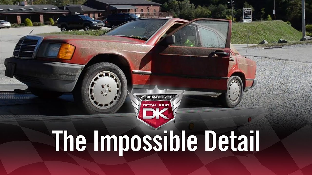 Detailing the DIRTIEST Car in History! - YouTube