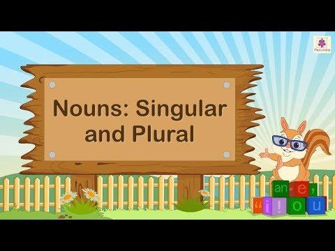 Nouns - Singular & Plural For Kids | English Grammar | Grade 2 | Periwinkle