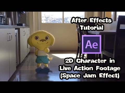 PWow Workshop - After Effects: 2D Character in Live Action Footage (a.k.a.) Space Jam Effect