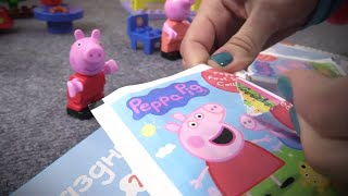 Развивающее видео для детей. Свинка Пеппа читает детский журнал Peppa Pig