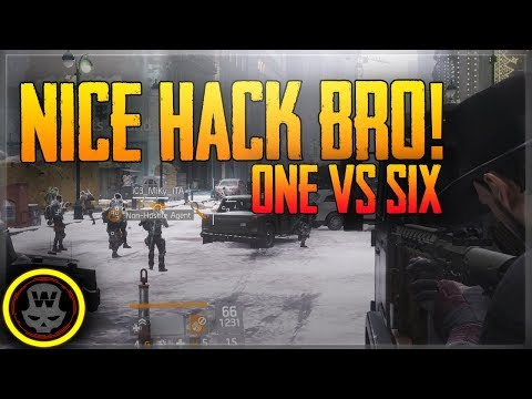 1v6  = Nice HACK BRO! Solo DZ PVP #11 (The Division 1.6): Like my videos & wanna support the channel? Patreon: https://www.patreon.com/widdz New Focus Drink 25% OFF CODE: widdz http://widdz.eu/engage ▬▬▬▬▬▬▬▬▬▬▬▬▬▬▬▬▬▬▬▬▬▬▬▬▬▬▬▬▬ Like my work and wanna support me? Sub on twitch: https://www.twitch.tv/products/widdz/ticket  Donate: https://twitch.streamlabs.com/widdz ▬▬▬▬▬▬▬▬▬▬▬▬▬▬▬▬▬▬▬▬▬▬▬▬▬▬▬▬▬ Follow my other social media sites and never miss a video! ▶Livestream: https://www.twitch.tv/widdz  ▶Subscribe for more videos! http://bit.ly/subwiddz ▶Facebook:http://facebook.com/widdzTV ▶Twitter: https://twitter.com/widdzTV ▶Email contact(business only): widdzDOTA@gmail.com ▬▬▬▬▬▬▬▬▬▬▬▬▬▬▬▬▬▬▬▬▬▬▬▬▬▬▬▬▬ My Computers & gear Peripherals   Mouse: Logitech G502 http://amzn.to/2qACCM2  MousePad: SteelSeries QcK+ Gaming Mouse Pad http://amzn.to/2pRnk7G)   Keyboard: Razer BlackWidow Chroma Stealth http://amzn.to/2qAp2bs Headset: SteelSeries Siberia 800 (wireless) http://amzn.to/2pa8RQV Headphones: Beyerdynamic DT 990 Pro 250 Ohm http://amzn.to/2v3IAJB Microphone: Audio-Technica AT 2035 http://amzn.to/2qtsfN3 Mixer: Focusrite Scarlett 2i2 http://amzn.to/2q04TyH Monitor 1: BenQ 24