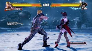 Tekken 7 Paul 4(CH) Combos | PS4