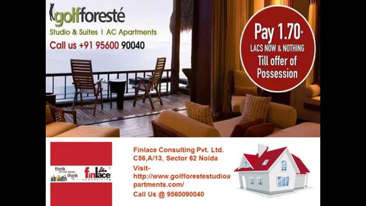 Golf Foreste Studio Apartment Noida Extension Call 9560090040