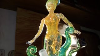 Sick Glass Oil Rig with Slyme Simply Know as Female form #3