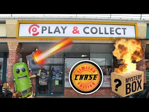 Play and Collect Funko Pop Hunt | Chases, Mystery Boxes and Pickle Rick