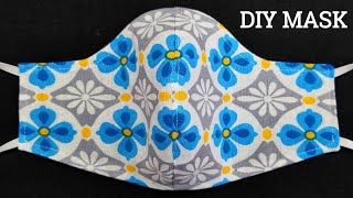 New Style Very Easy Pattern Mask Face Mask Sewing Tutorial How to make easy face mask at Home