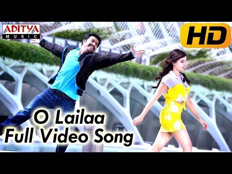 """"""" O Lailaa """" Full Video Song - Ramayya Vasthavayya Movie - Jr.Ntr,Samantha"""