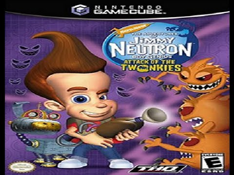 The Adventures of Jimmy Neutron Boy Genius: Attack of the Twonkies Official Game Trailer