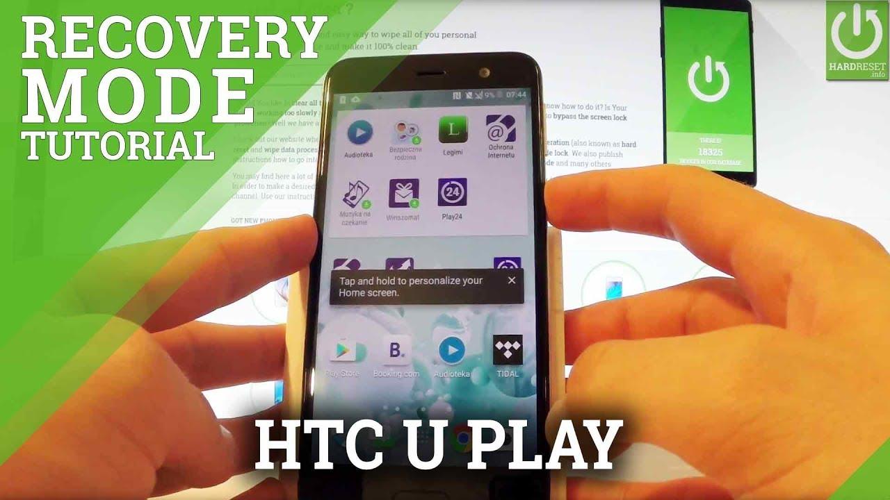 Recovery Mode HTC U Ultra - HardReset info