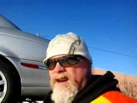 """Live On location"" ""Yellow Hook Towing"" ""2002 Jaguar Heading To Calgary"" Nov 25/15"