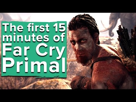 Far Cry Primal gameplay - The first 15 minutes