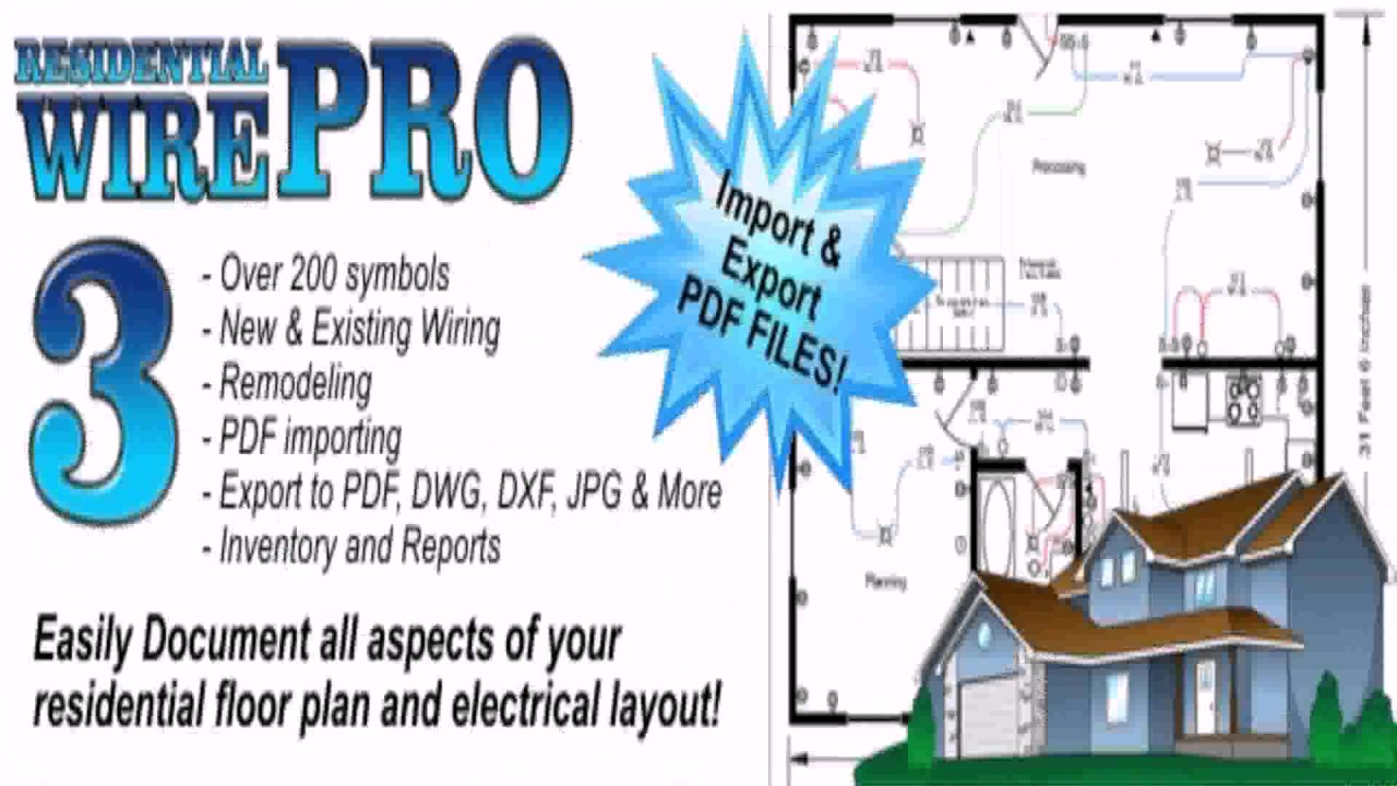 Electrical Floor Plan Layout Pdf - YouTube