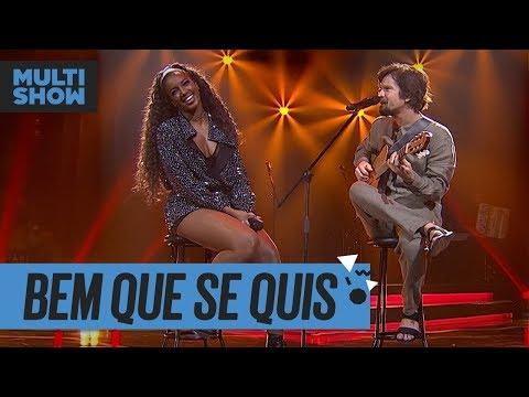 Bem Que Se Quis  IZA + Saulo Fernandes  Música Boa Ao Vivo  Música Multishow