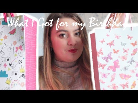 What I Got for my Birthday: Missoma, Jo Malone, Olivia Burton & Disney | TOPAZ&MAY