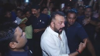 Drunk Sanjay Dutt CREATES A Scene At Amitabh Bachchan's Diwali Party 2016