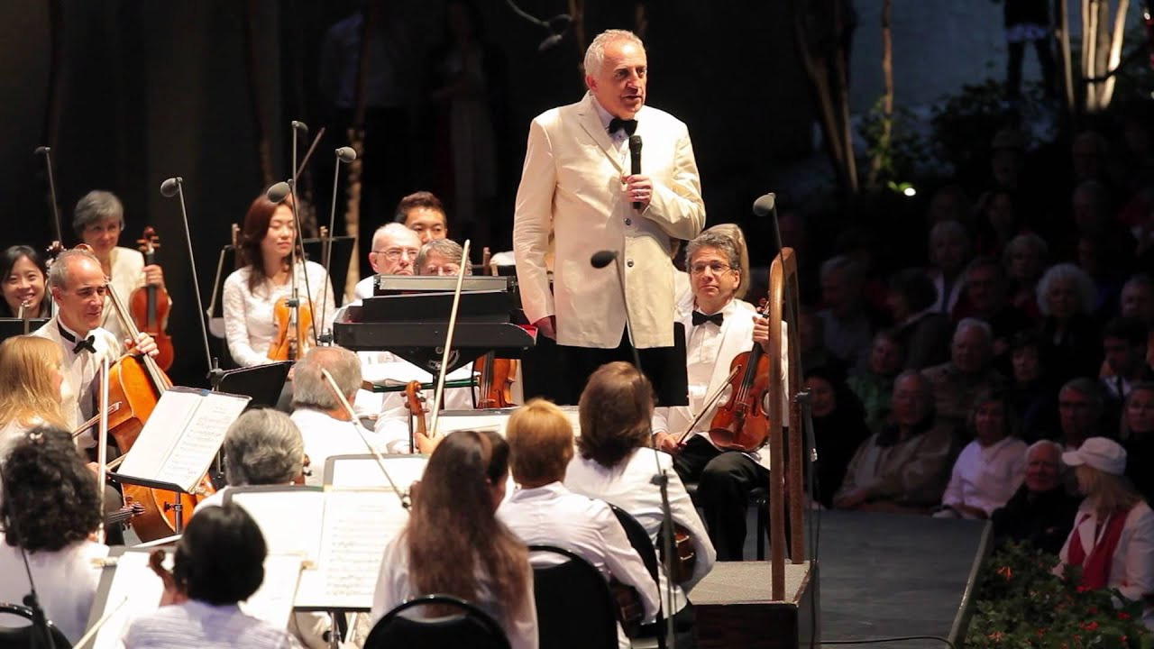 The New York Philharmonic Plays the 1812 Overture in Vail, 072112